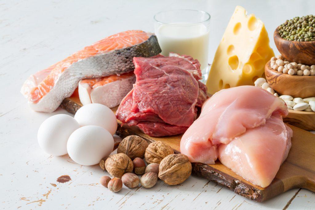 たんぱく質を含む食品