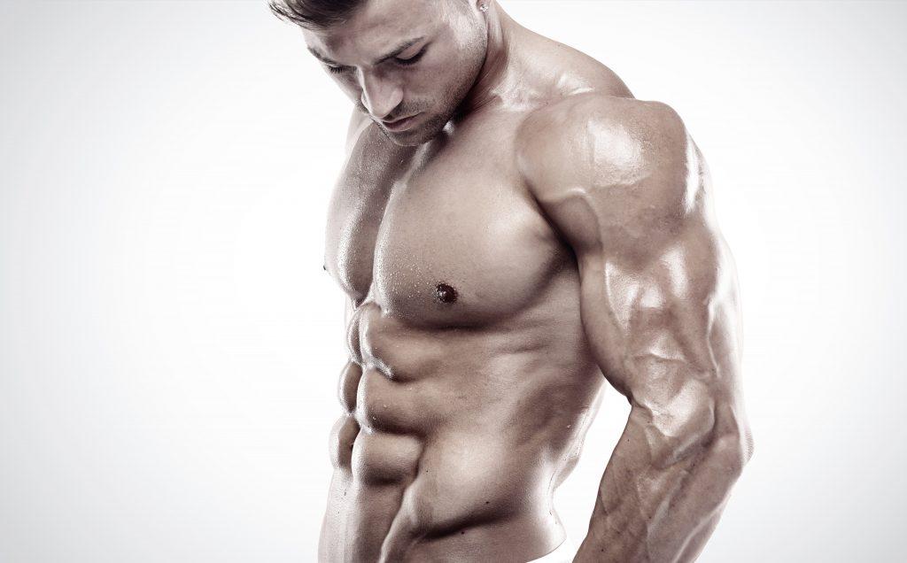 筋肉の鎧をまとった男性
