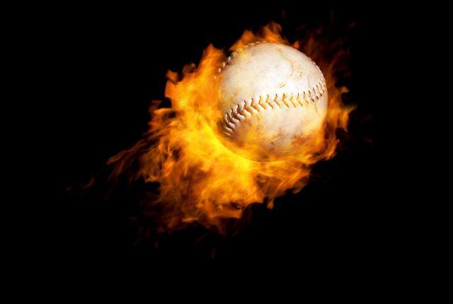 火災熱い組合せの野球