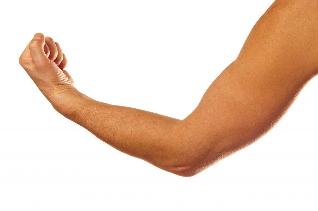 男性のたくましい腕