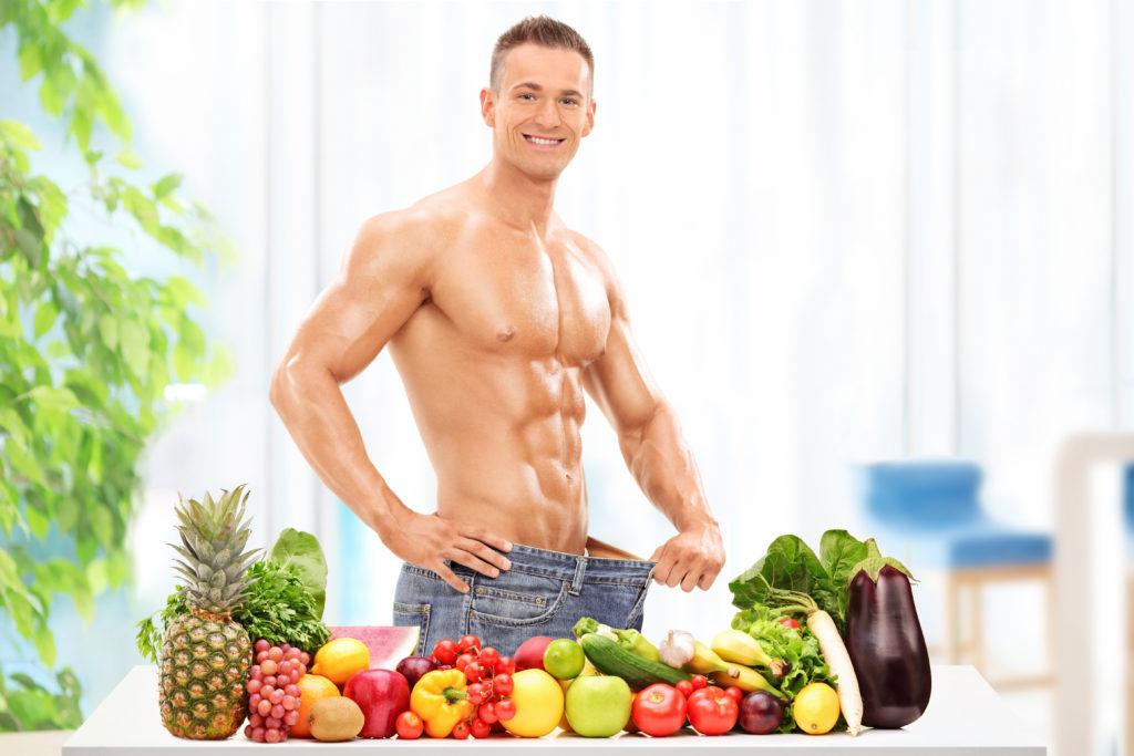 筋トレダイエットに成功した男性