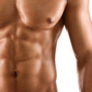 セクシーボディーの筋肉男性