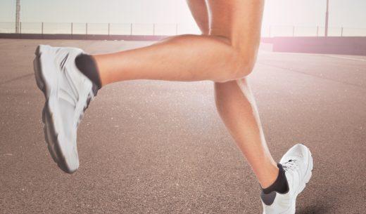 ランナーの健康的なふくらはぎ
