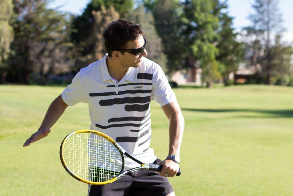 テニス選手の男性