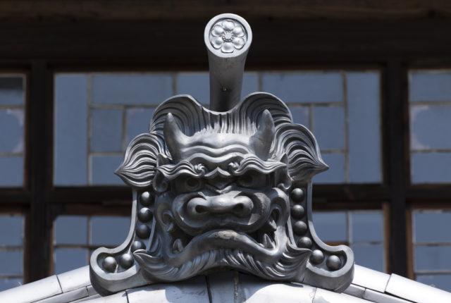 旧奈良県立図書館 鬼瓦