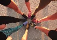ランナー達の美しく鍛えられた足