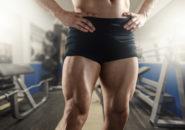 筋肉質な足