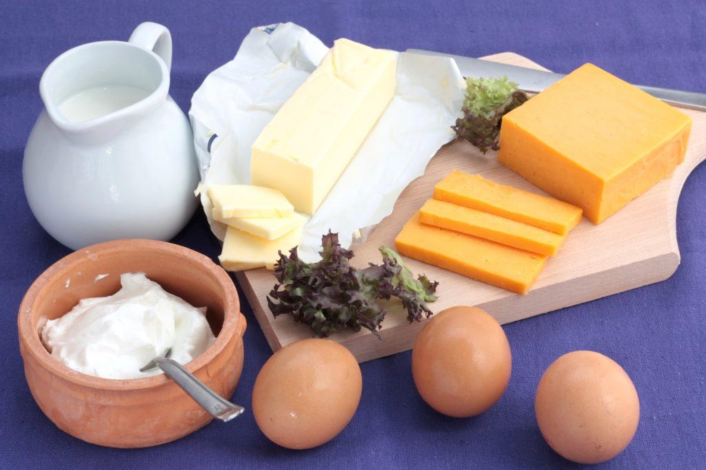 カルシウムを多く含む食品