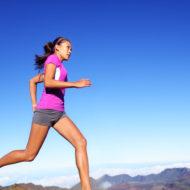 フィットネス ランナーの女性