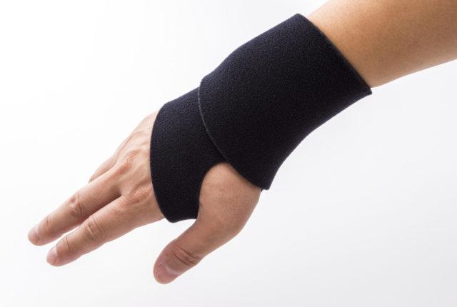 手首のサポーター