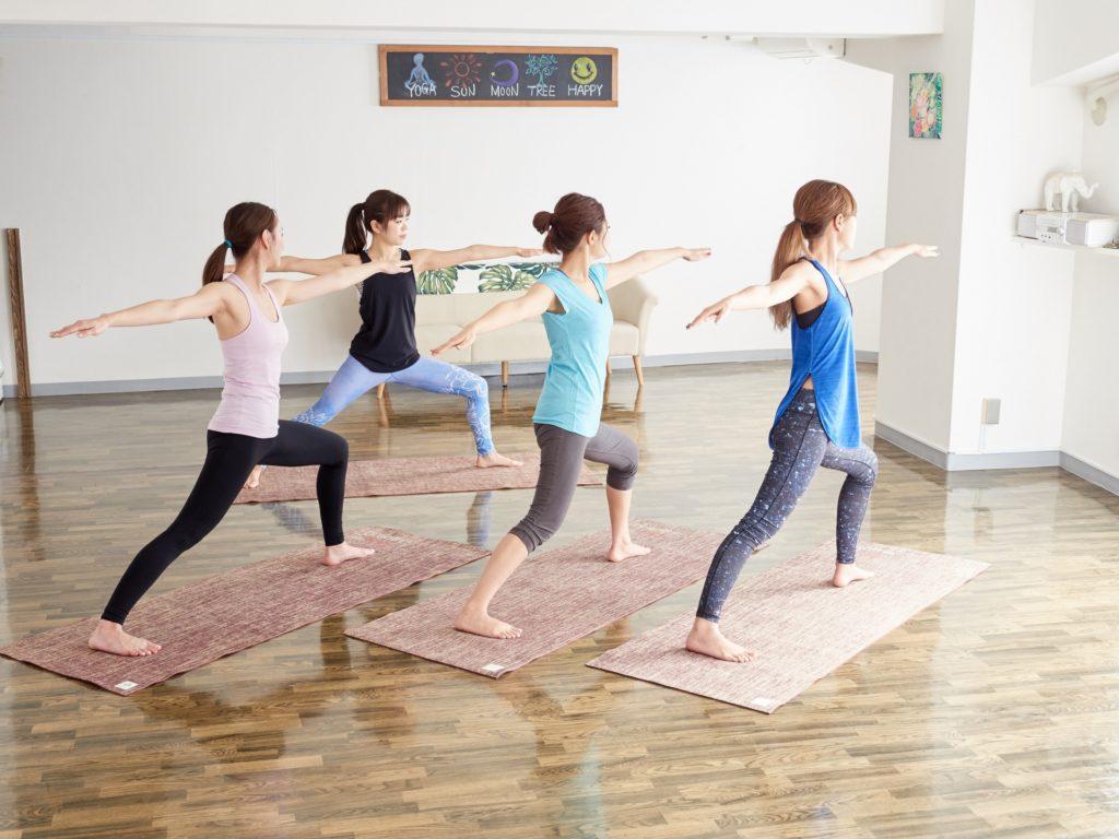 プログラムを実践する女性たち