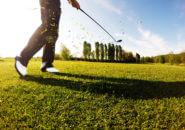 晴れた日のゴルフ