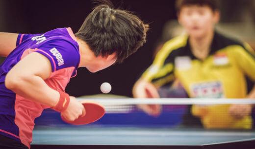 卓球の大会