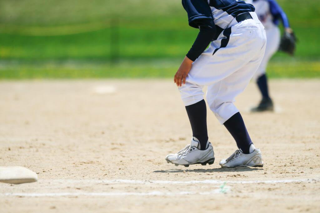 野球の練習風景