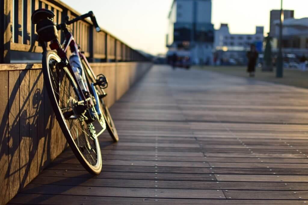 自転車のライト