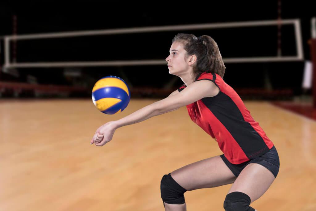 女性バレーボール選手
