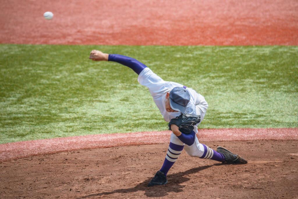 野球、ピッチャー、男性