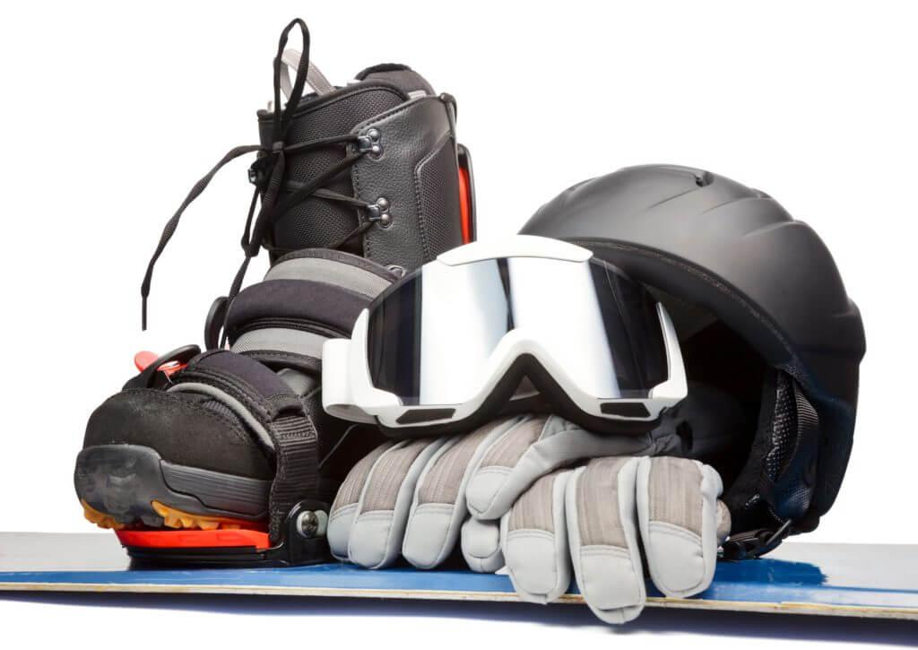 スノーボード、スキー道具