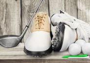 ゴルフクラブ、ゴルフシューズ