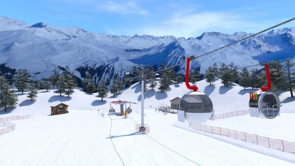 スキースロープ