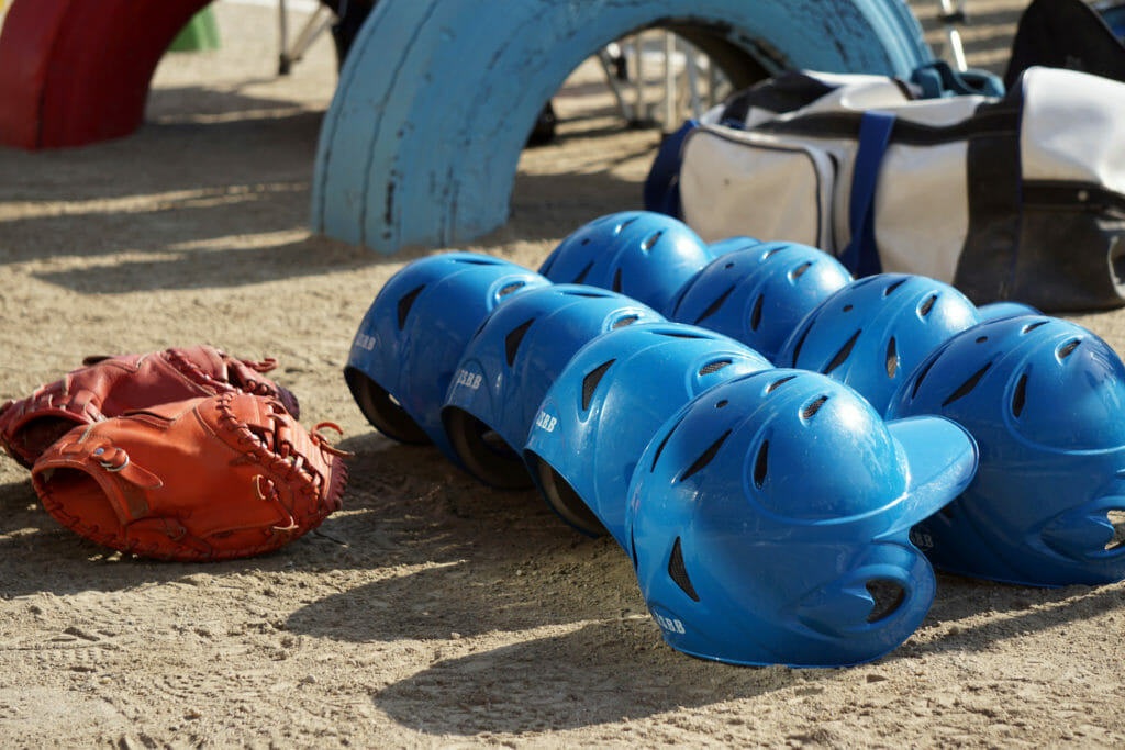 野球のヘルメット