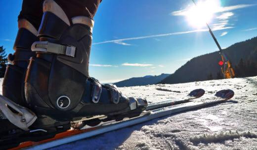 ゲレンデ、スキー