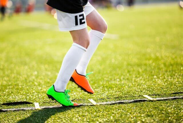 サッカーラダートレーニング