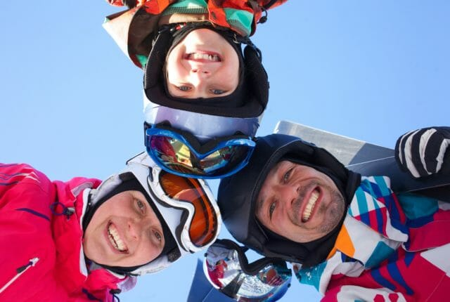 家族スキープレーヤー