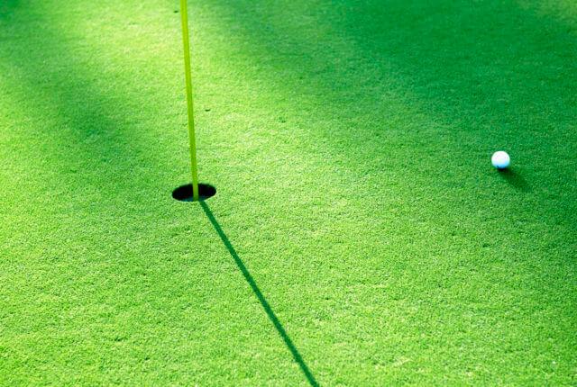 ゴルフのグリーン
