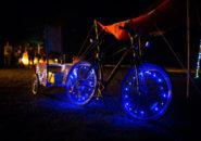 自転車用ホイールライト