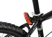 自転車のテールランプ