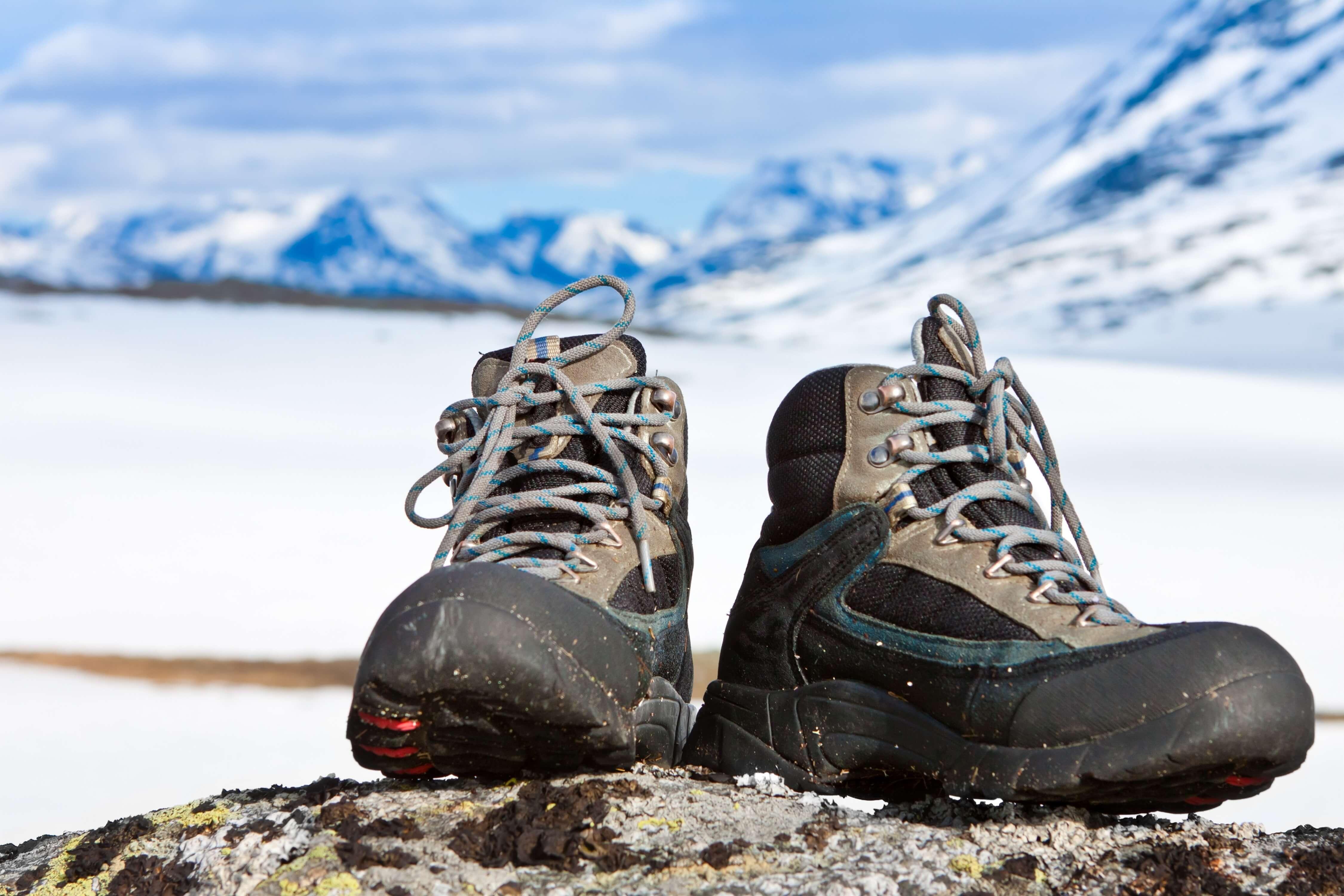 雪山用登山ブーツ