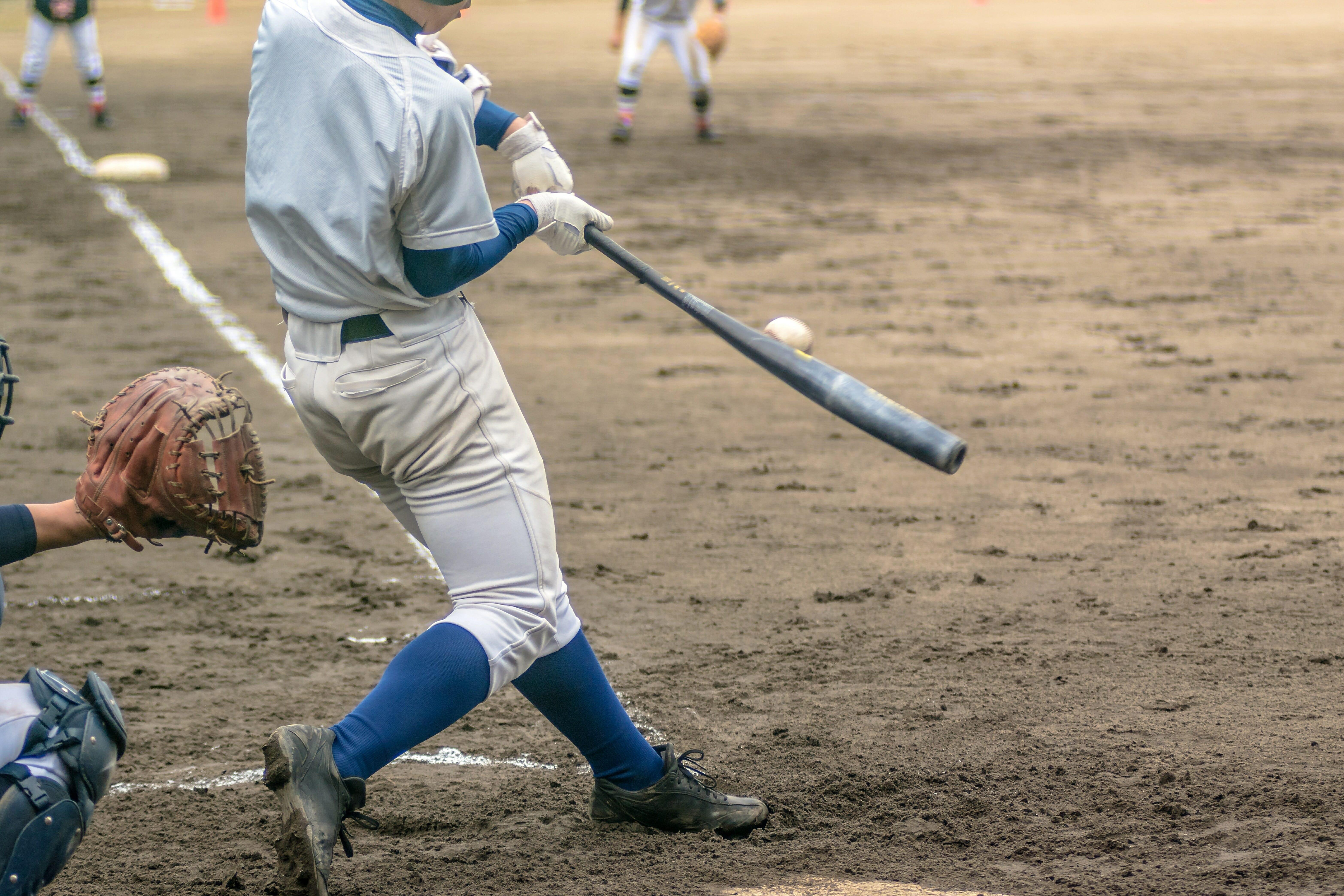 高校野球のバッター