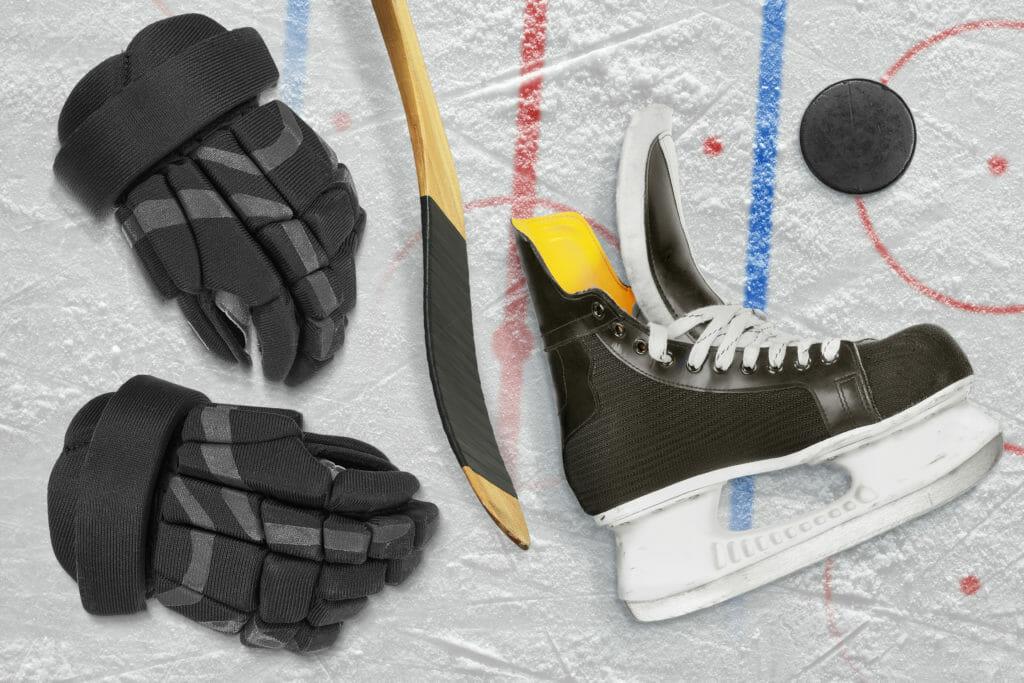 アイススケート 靴 手袋 ホッケー