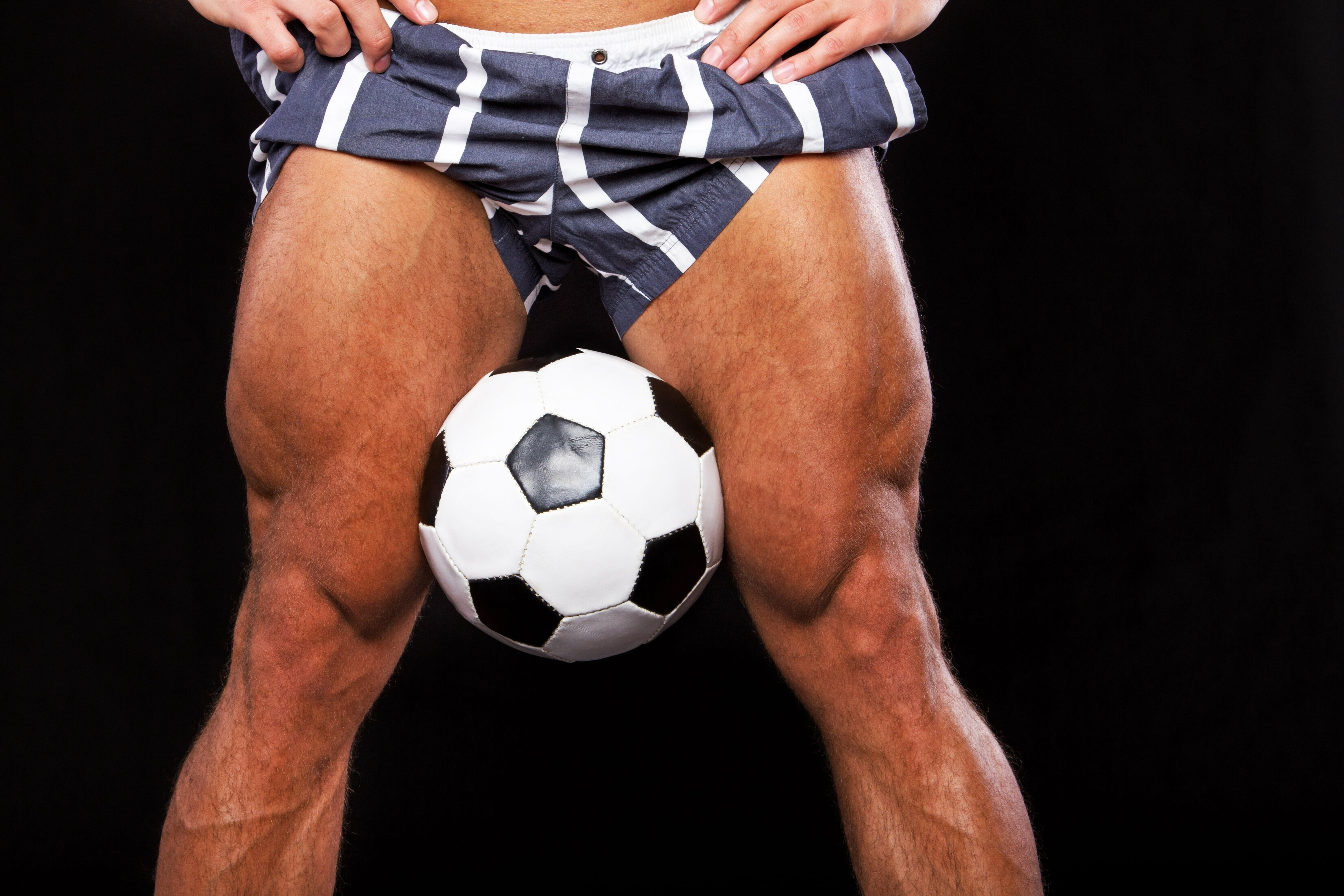 サッカー選手の筋肉