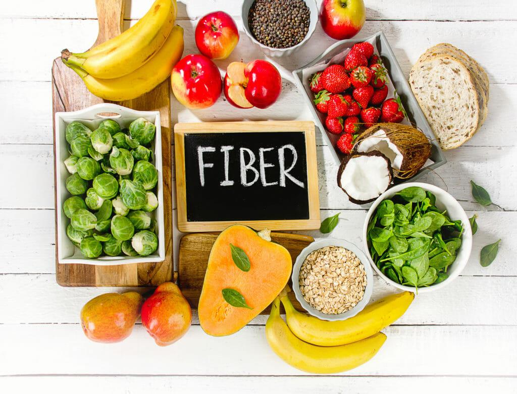食物繊維を多く含む食品