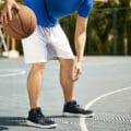 バスケ 男性 ドリブル