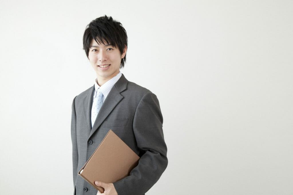 ビジネスマン 笑顔