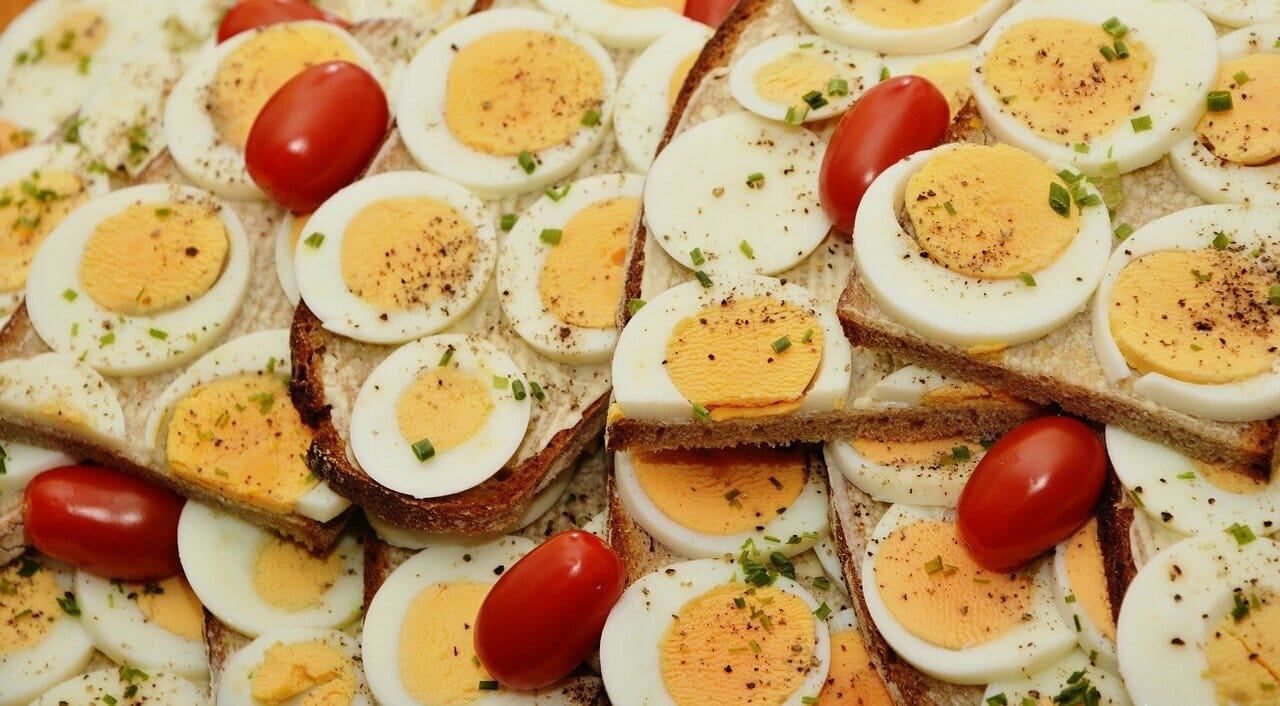 ゆで卵 料理