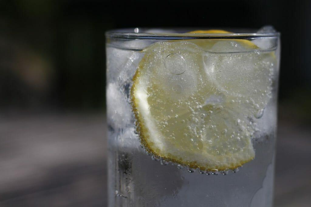 レモンと炭酸水