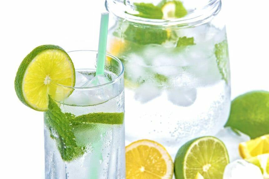 炭酸水 レモン ライム
