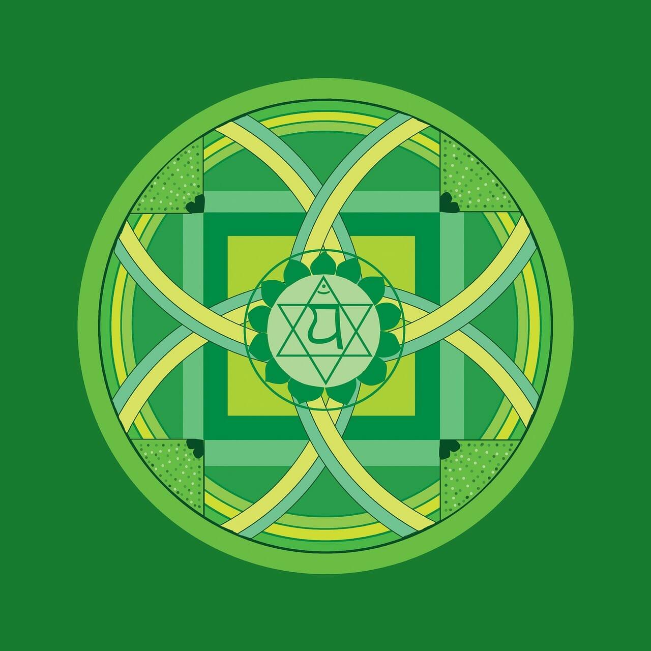 green, anahata, heart chakra