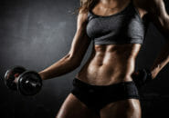 【写真】筋肉女子の筋トレ&ダイエットが凄い!ボディを維持する食事と運動とは?